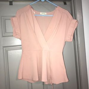 Peachy Pink Top. MUST BE BUNDLED